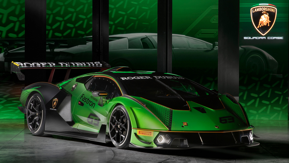 The Lamborghini Essenza SCV12.