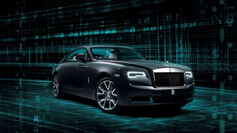 The Rolls-Royce Wraith Kryptos Collection.