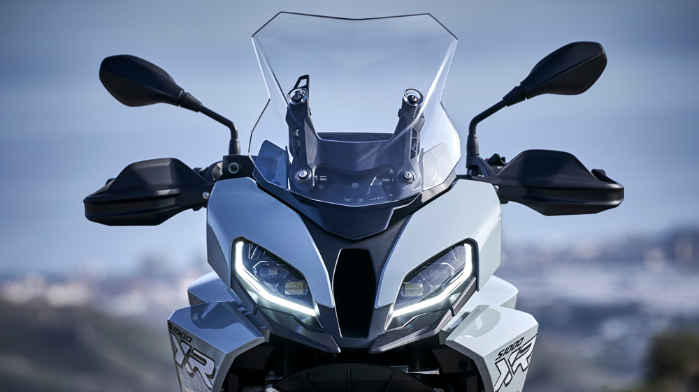 The 2020 BMW S 1000 XR.