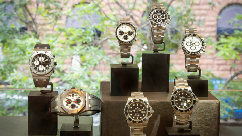 Pre-Owned Watches at Oliver Smith