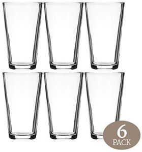 Modvera Drinkware Beer Pint Glass
