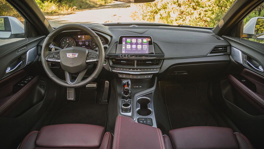 The 2020 Cadillac CT4-V.