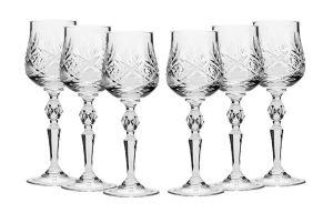 Neman Russian Cut Crystal Glasses