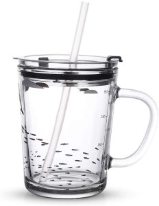 Mirabile Dictu Glass Tumbler