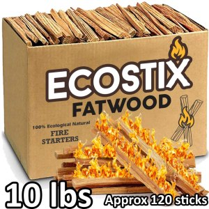 EasyGoProducts Eco-Stix Fatwood Starter Sticks