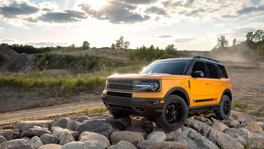 The 2021 Ford Bronco Sport.