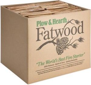 Plow & Hearth Fatwood Fire Starter