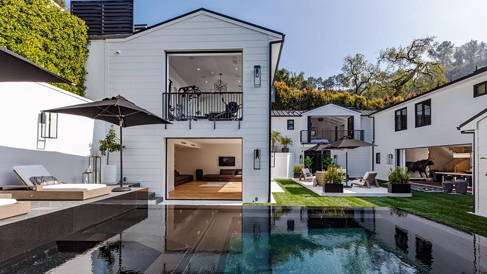 Douglas Elliman, Los Angles, heather Road, Beverly Hills