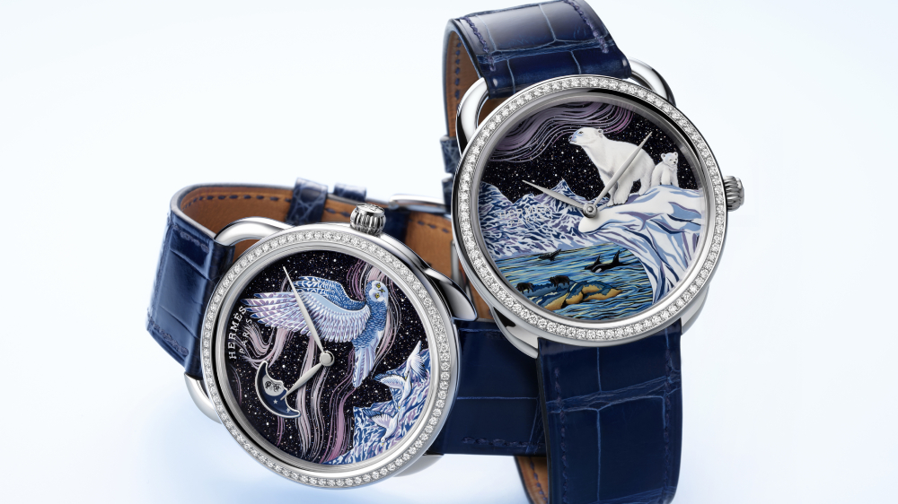 Hermès Arceau Into the Canadian Wild watch