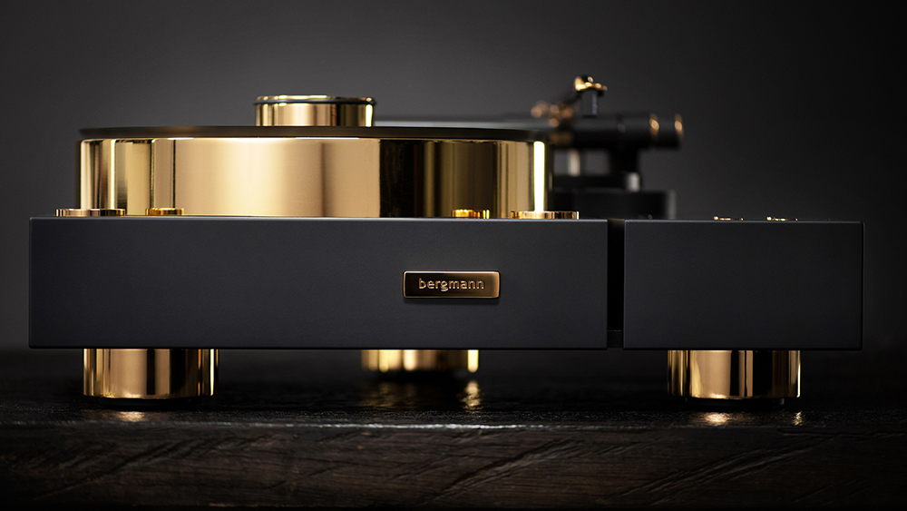 Bergmann Galder Gold Turntable
