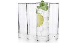 History Company New York Long Drink Glasses