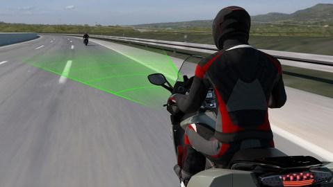 BMW Motorrad's Active Cruise Control