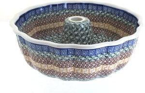 Blue Rose Pottery Athena Bundt Pan