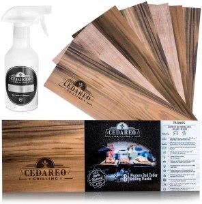 Cedareo Cedar Grilling Planks