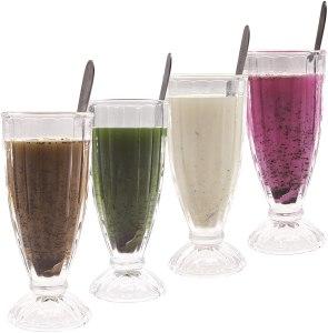 ChefCaptain Milkshake Glass Set
