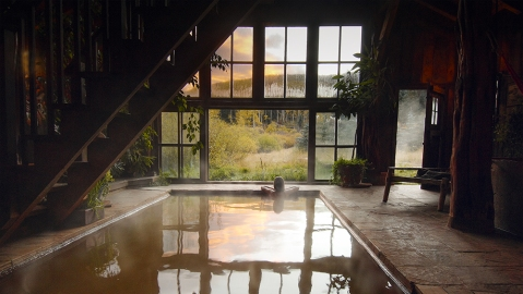 Dunton Hot Springs Bath House