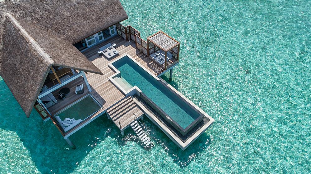 Four Seasons Resort Maldives at Landaa Giraavaru.