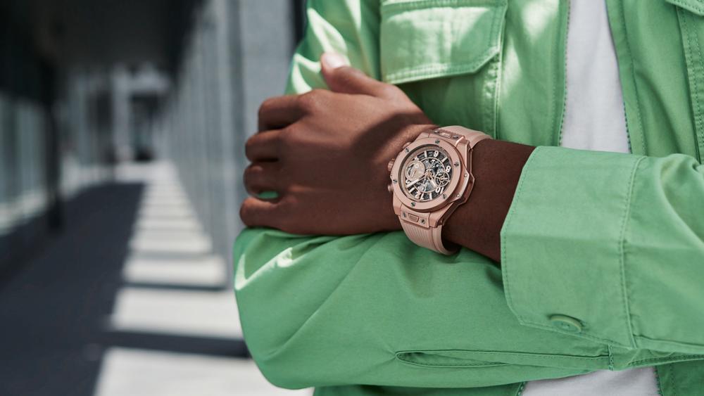 Hublot Big Bang Millennial Pink Chronograph Unico