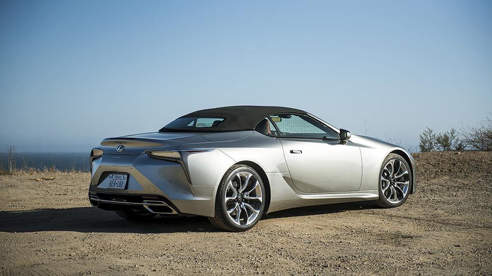 2021 Lexus LS500 convertible