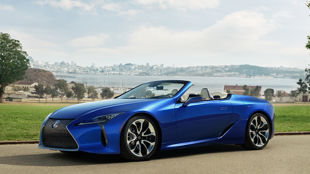 2021 Lexus LS500 Inspiration Series convertible