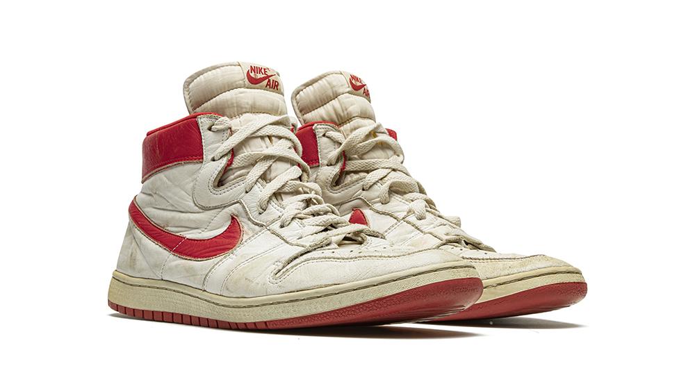 Michael Jordan's Game-Worn Sneakers