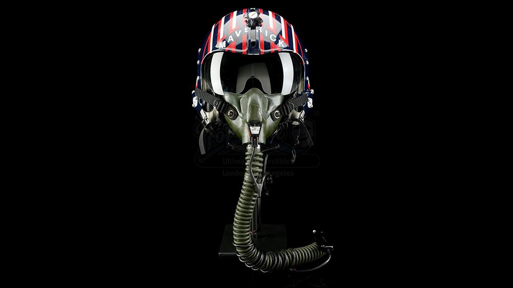 """Pete """"Maverick"""" Mitchell's fighter pilot helmet from 'Top Gun'"""