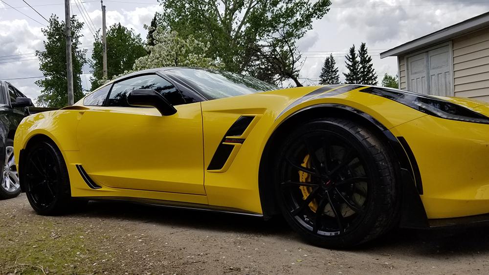 Mike Schickerowski and his Chevrolet Corvette C7 Grand Sport