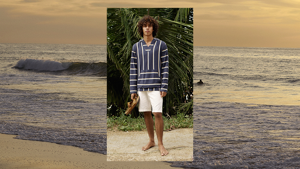 A look from Mr. Porter's Gone Surfin' collection.