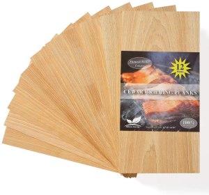 Nature Carrier Cedar Grilling Planks