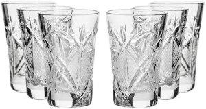 Neman Cut Crystal Shot Glasses