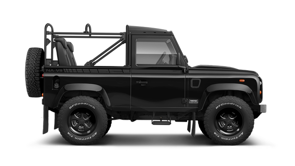 Twisted NA-V8 Defender Restomod