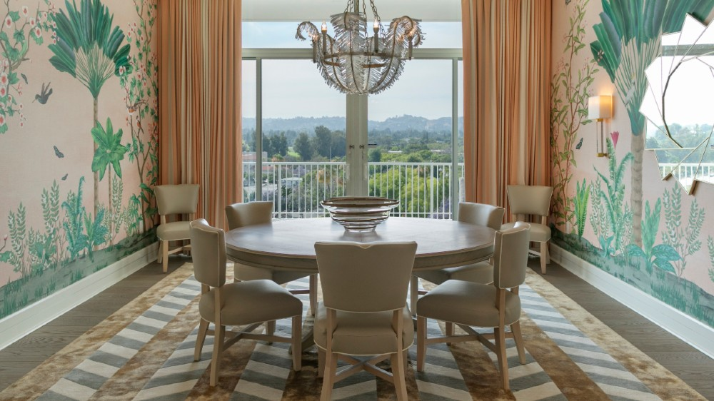 Beverly Hilton Los Angeles Presidential Suite