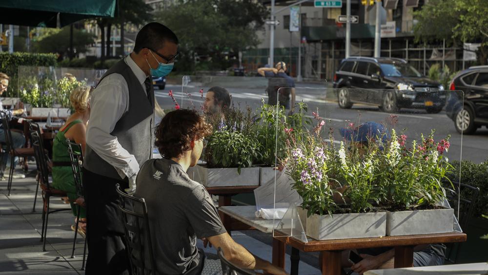outdoor dining new york city