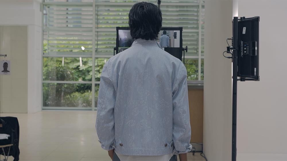 A snapshot from Hermès' digital fashion show.