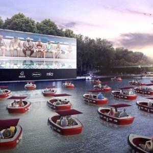 Le Cinéma sur L'eau