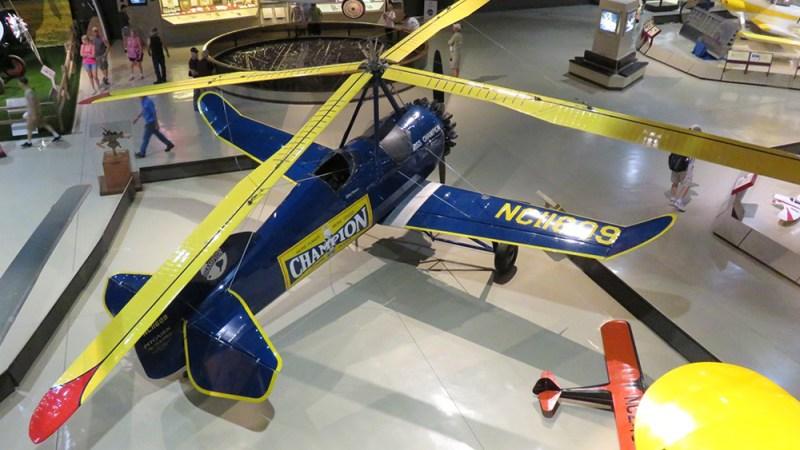 Pitcairn PCA-2 Autogyro 1931
