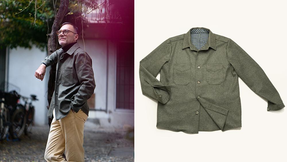 PML 'Palazzi flannel' overskirt