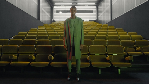 A still from Prada's spring 2021 menswear presentation.