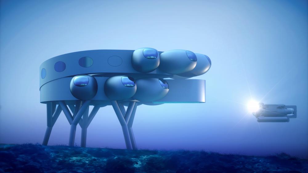 Proteus, Underwater