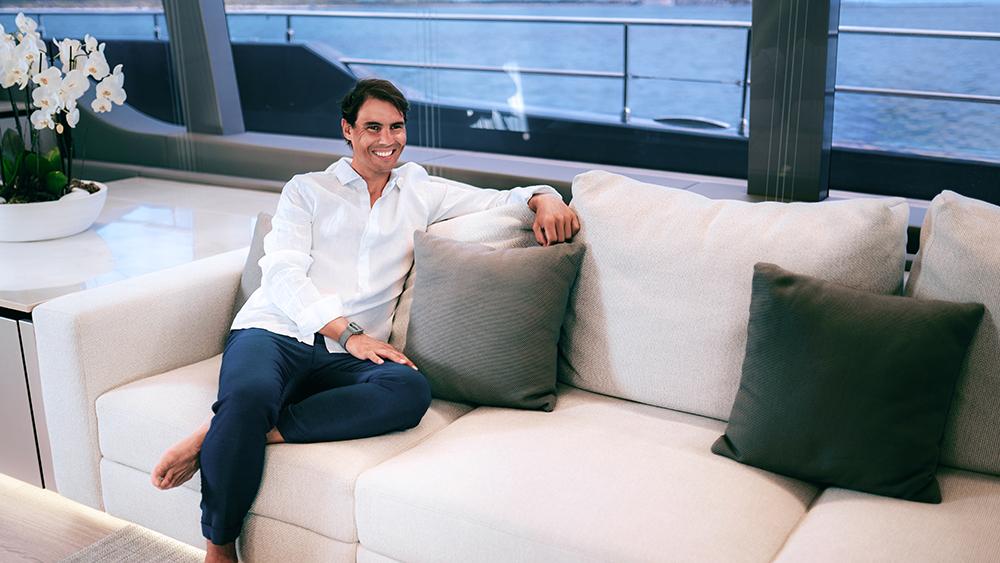 Rafael Nadal Sunreef 80 Power Great White