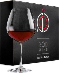 RÖD Wine Titanium Wine Glass Set