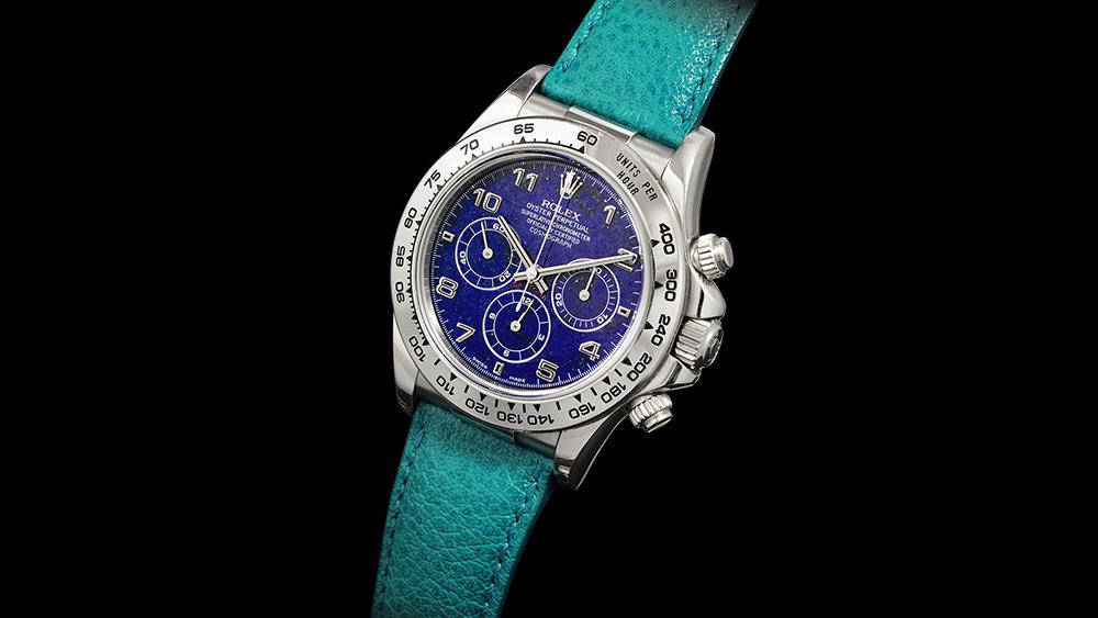 Rolex Cosmograph Daytona with Lapis Lazuli Dial