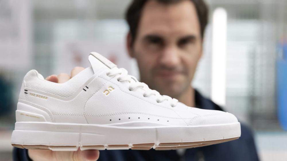 Roger Federer On sneaker
