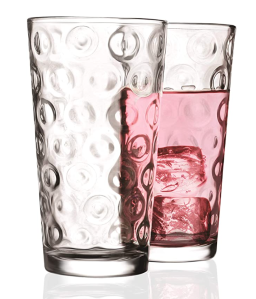 Circleware Set of Highball Drinking Glasses