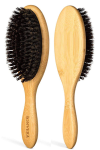 Sonvera Boar Bristle Hair Brush for Men