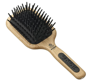 Kent Beechwood Cushion Paddle Brush
