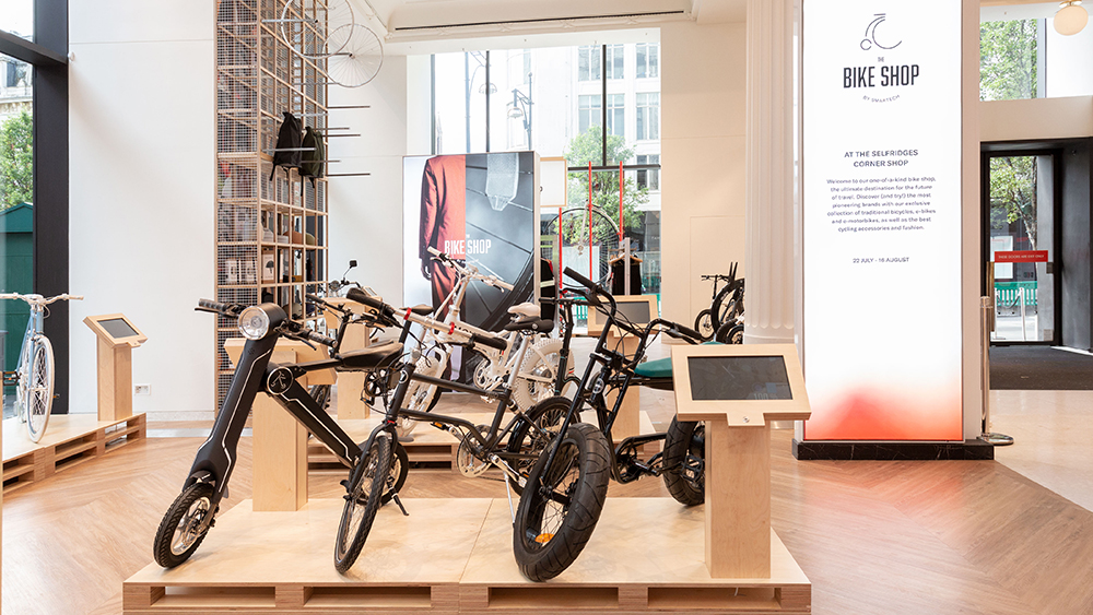 Selfridges The Bike Shop by Smartech