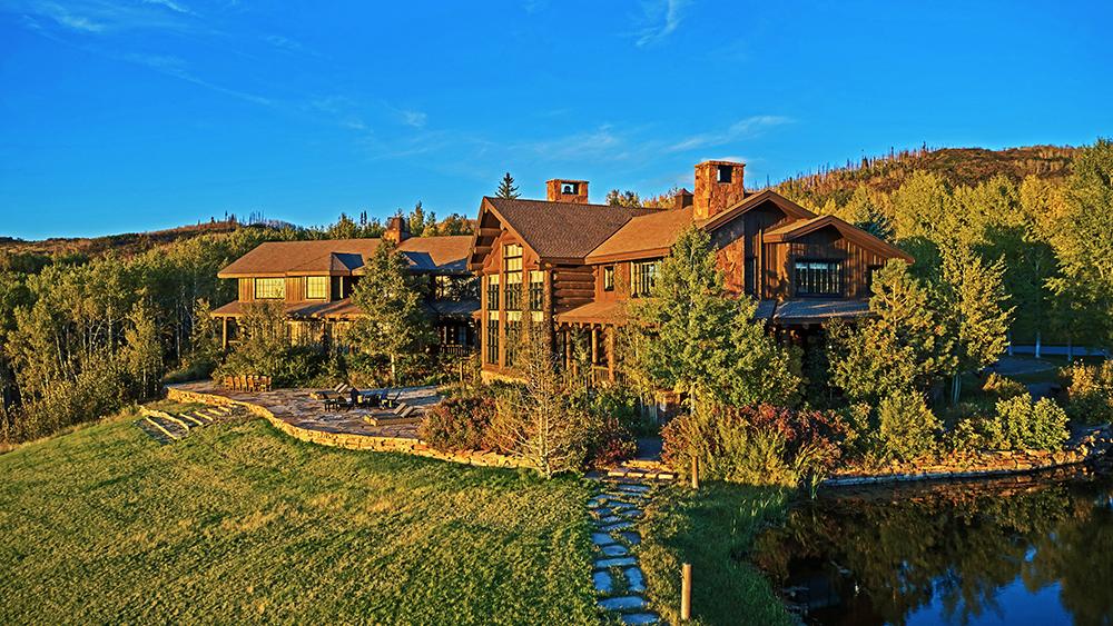 Greg Norman's Colorado ranch