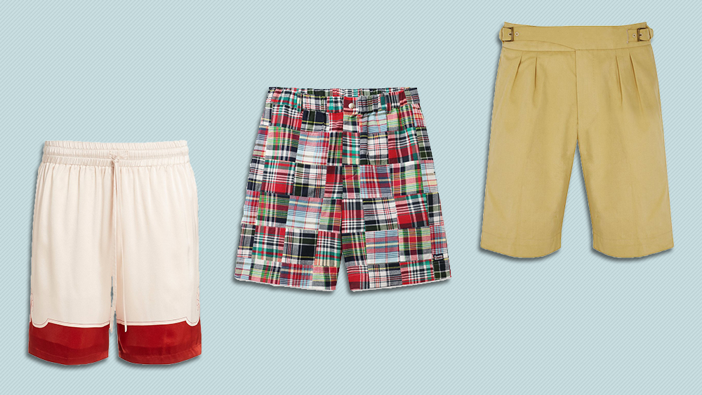 Shorts from Casablanca, Rowing Blazers and Anderson & Sheppard