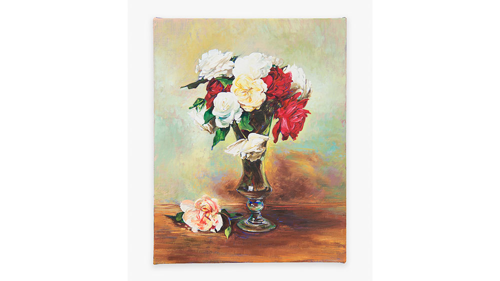 Roses in a Stemmed Glass (after Fantin-Latour), 2020